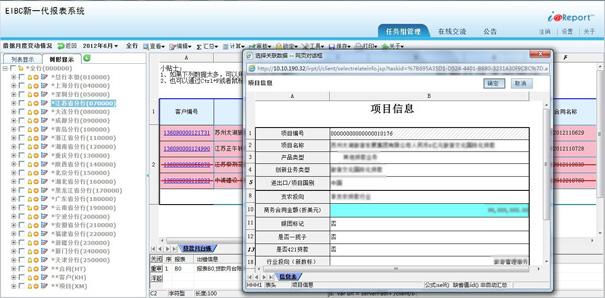 EIBC新一代报表系统
